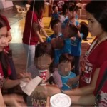 Christmas Party for the less fortunate children of the Drop-in Center from Parian